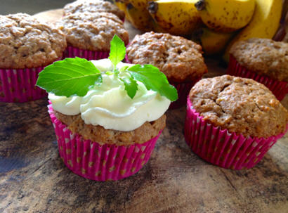 Easy Banana Bread Cupcakes