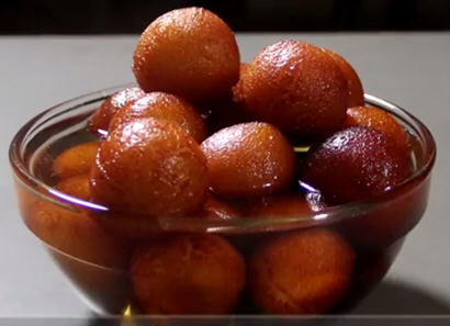 Milk Powder Gulab Jamun | Veg Recipes By ISKCON Desire ...
