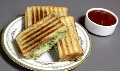 Grilled Potato Sandwich