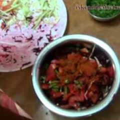 Vegetable Salad for Krishna