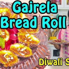 Gajrela Bread Roll