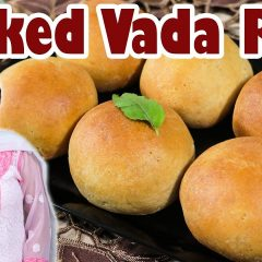 Baked Vada Pav