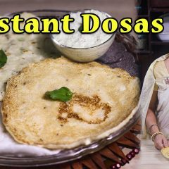 Three Instant Dosas