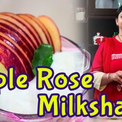 Apple Rose Milkshake