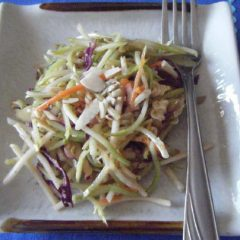 American Style Asian Cole Slaw Salad