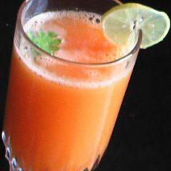 Carrot cucumber juice