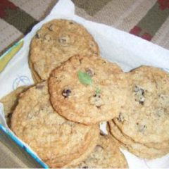 Chocolate Chip (Carob Chip or White Chocolate Chip) Whole Wheat Cookies