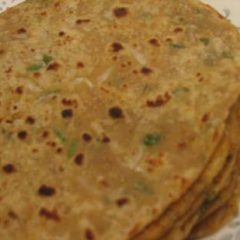 Griddle Fried Radish Flatbreads (Mooli Paratha)