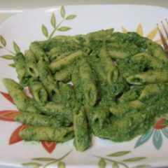 Pasta Spinach Pesto