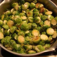 Braised Brussel Sprouts