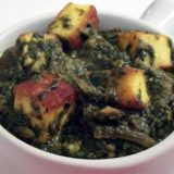 Creamed Spinach with Fresh Curd Cheese