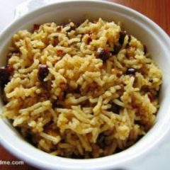 South Indian Hot, Sweet-and-Sour Tamarind Rice