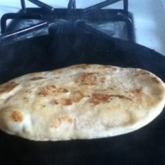 Naan from Wheat