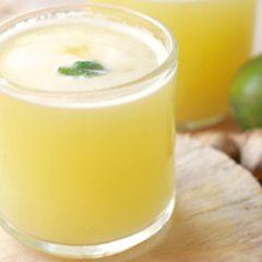 Whey Ginger Lemonade
