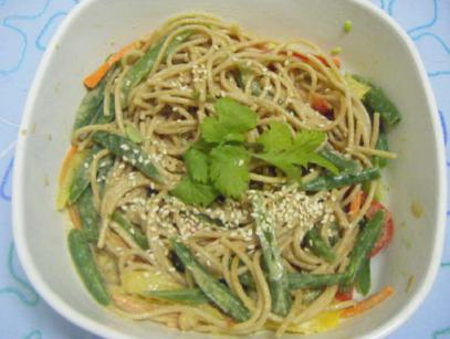 Cold Noodles Taiwanese