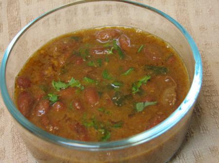 Red Kidney Beans Curry