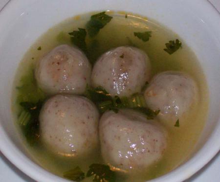 Rice Balls Soup