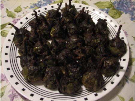 Stuffed Baby Eggplants 1