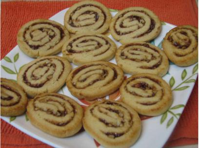 Jam and Nut Pin wheels