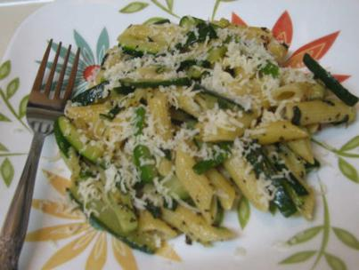 Penne with Zucchini