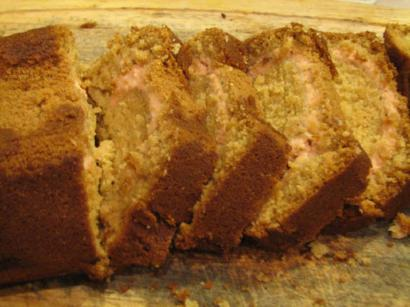 Strawberry Ribbon Bread