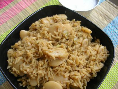 Double Beans Pulav