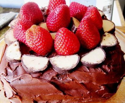 Carob Fudge Cake