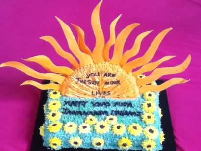 Orange Sun cake