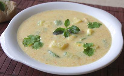 Creamy Vegetable Milk Soup