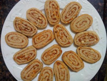 Ekadashi Apple Cinnamon Almond Cookie