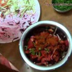 Vegetable Salad for Krishna