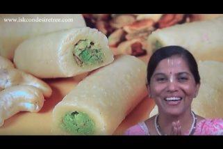 Cashew Pista Roll