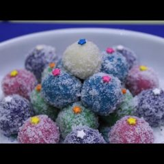 Coconut Ice Snow Balls